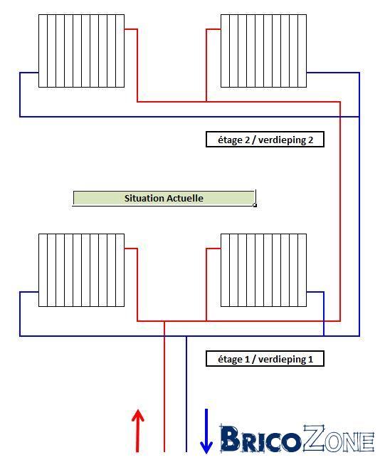 probl me de circulation des radiateurs 2ieme etage ne chauffent pas. Black Bedroom Furniture Sets. Home Design Ideas