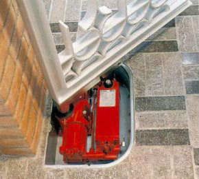 Motorisation portail 2 vantaux sans piliers