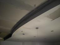 realiser un faux-plafonds arrondi