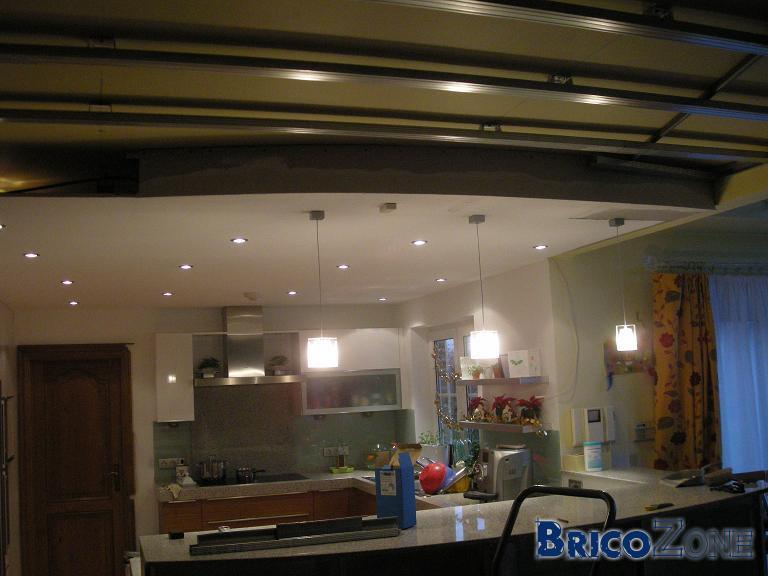 faux plafond spots. Black Bedroom Furniture Sets. Home Design Ideas