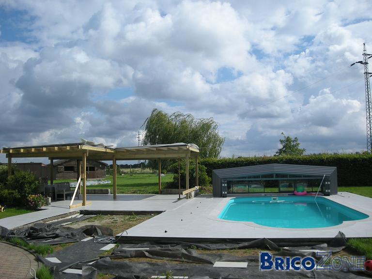 Cuisine de jardin en construction page 2 for Construction piscine hainaut
