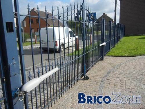 Portail & clôture -  Tuyaux pour remise en état