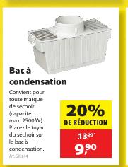 Condenseur pour s che linge for Fabriquer condenseur seche linge