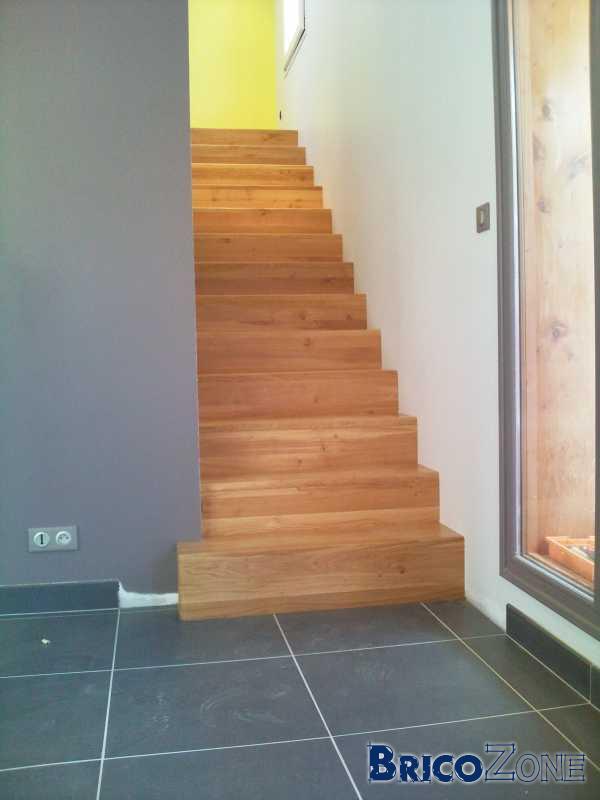 Escalier sans nez de marche for Nez de marche carrelage escalier