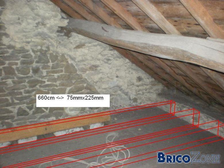 rénovation d'un grenier maison en pierre