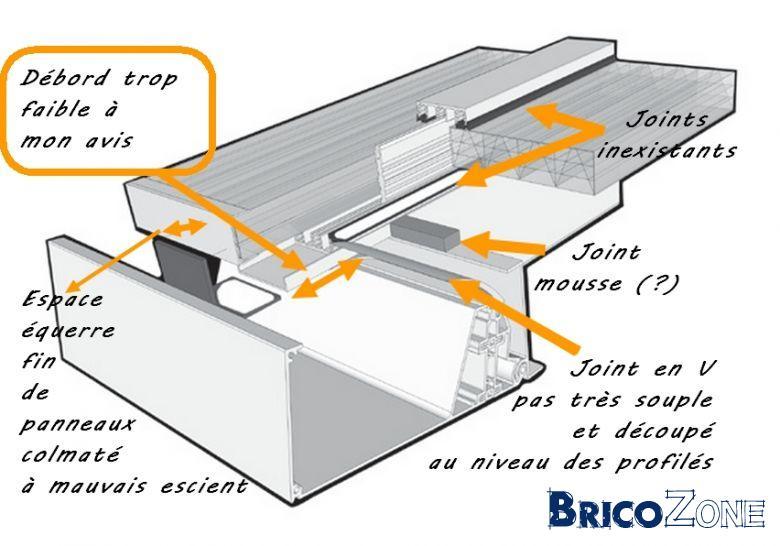 remplacement toiture de v randa en toiture plate. Black Bedroom Furniture Sets. Home Design Ideas