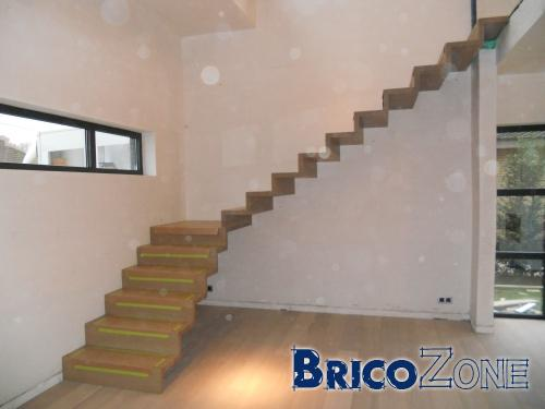 escalier autoportant bois. Black Bedroom Furniture Sets. Home Design Ideas