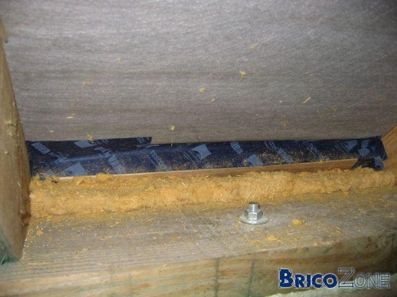 �tanch�it� air jontion mur toiture