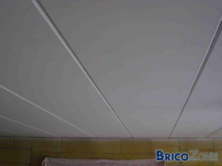 Peindre plafond en hourdis b ton for Habiller un plafond