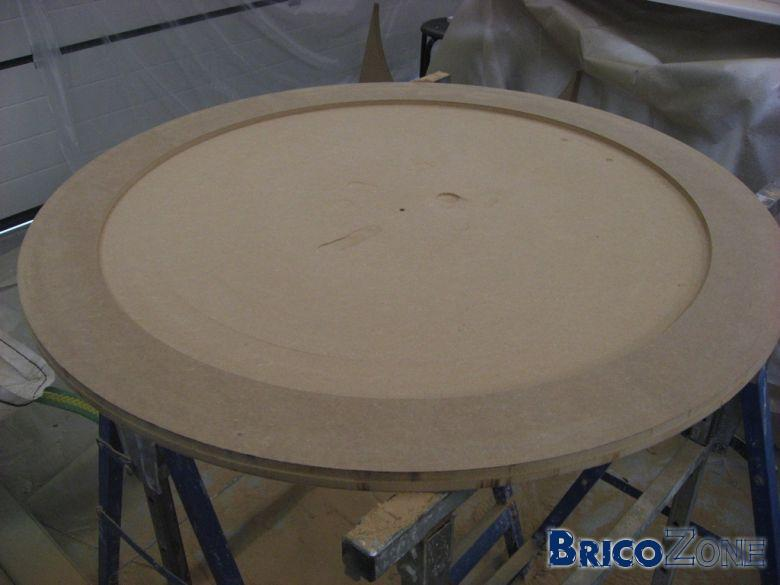 Table basse � partir d'un touret