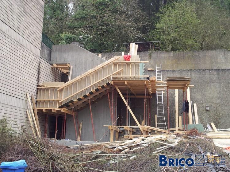 Escalier b ton fleur de bois page 2 - Temps de sechage beton coffrage ...