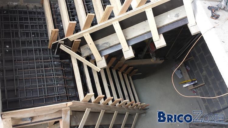 Coffrage Dun Escalier En Beton