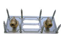 Wicu pour chauffage propane + ECS raccord Multiskin � encastrer