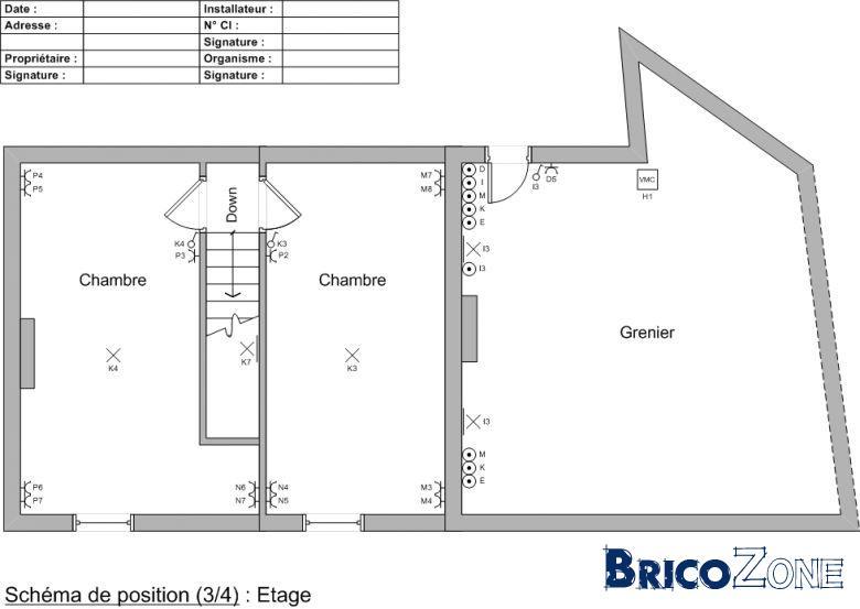 Plan Electrique Maison Vincotte 5