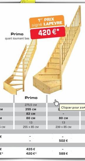 Escalier Secondaire Possibilite A Partir D Un Escalier