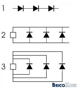 Infos sur câblage Power Led