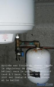 Conseil nouveau chauffe-eau électrique ...